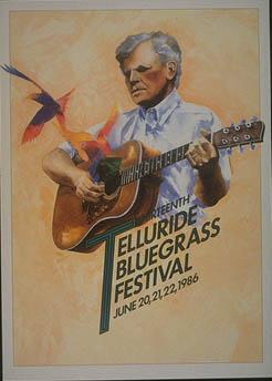 1986 Telluride Bluegrass Festival