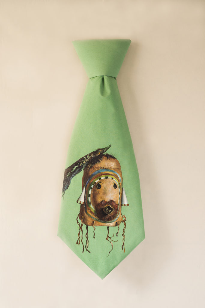 Dance Mask Tie