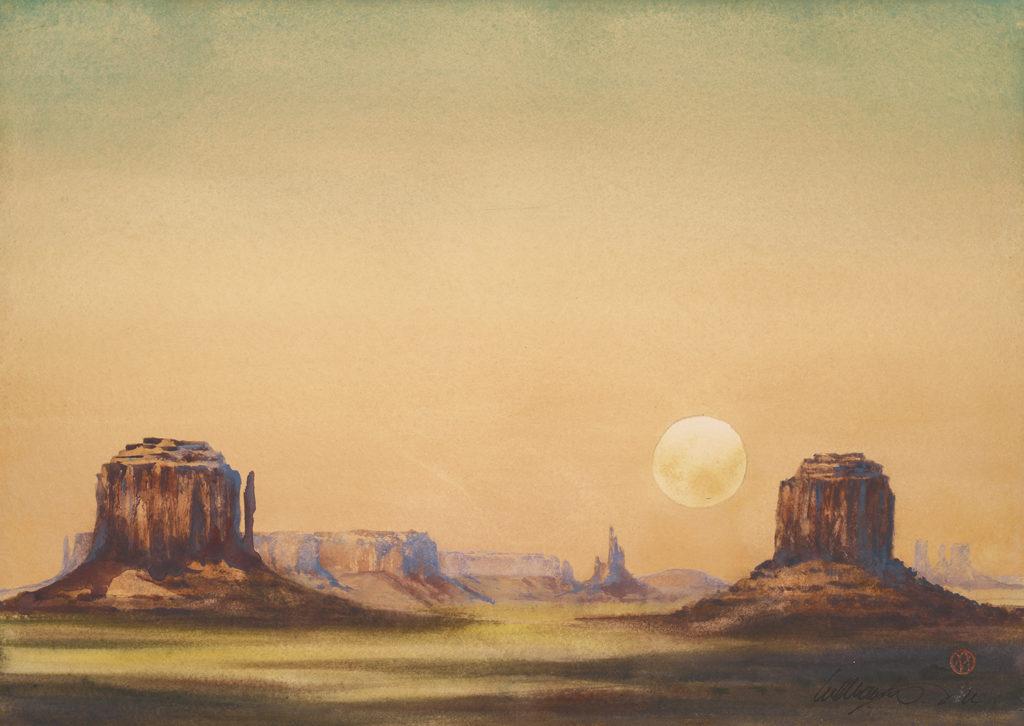 Moonrise Sketch