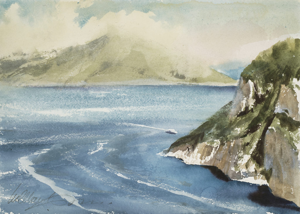 Coastal Cliff, Capri