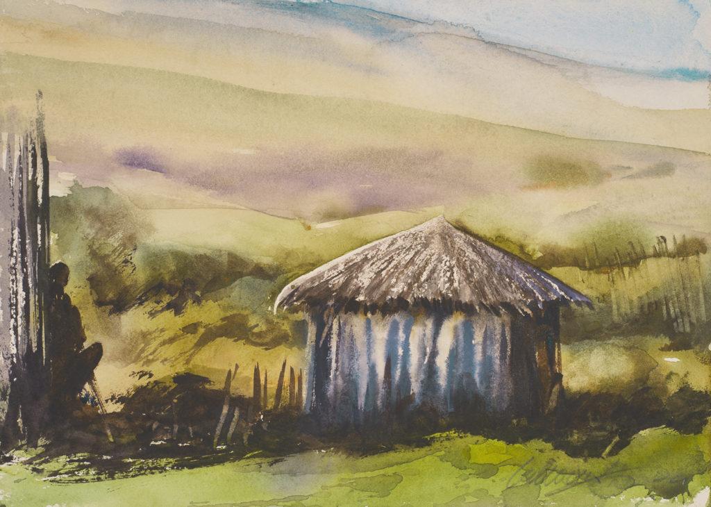 Maasai Silouette