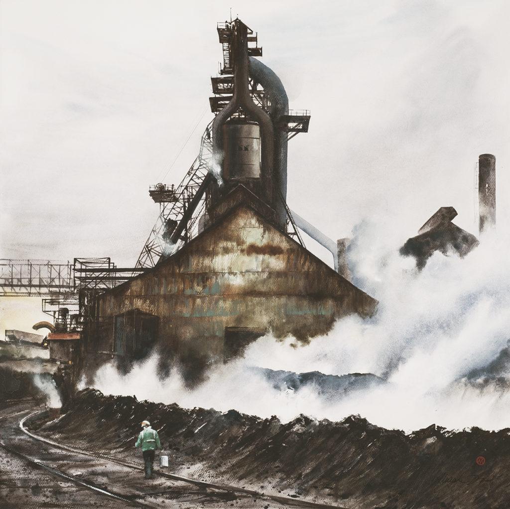 Steel Furnace Steam